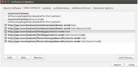 Repositorio Ubuntu