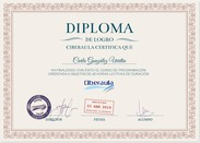 Diploma acreditativo de Cursos de Outlook Online